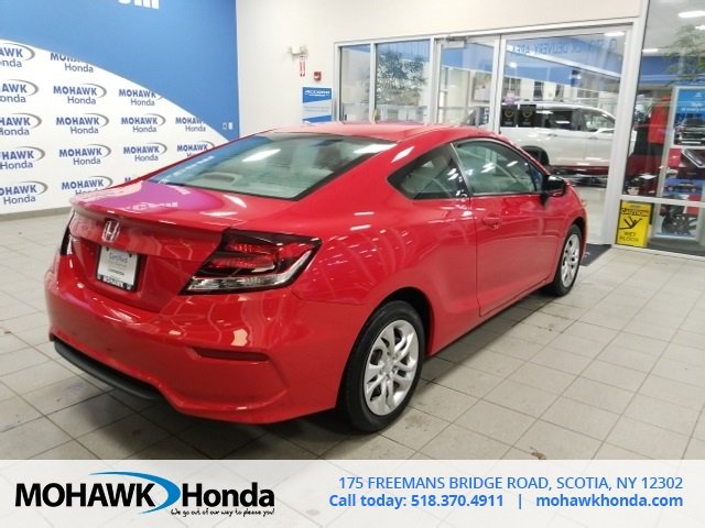 Certified Pre-Owned 2015 Honda Civic Coupe LX